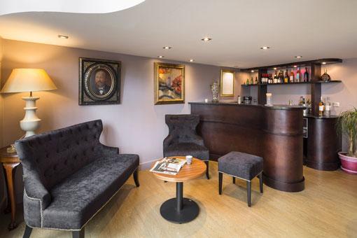 Hotel La Maison Vauban Bar Reception